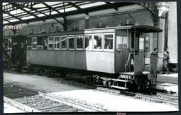 Photo G. Pérève - POC - En Gare De Tulle - Voiture Plateforme Prête Au Départ - Tulle