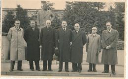 GENVAL - CARTE PHOTO ( Dans Une Pochette ) DU PERSONNEL DES PAPETERIE DE GENVAL MARDI 4 MARS 1952 - Belgique