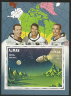 Ajman,Apollo VII 1968.,block,MNH - Ajman