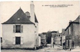 SAINT JULIEN DE VOUVANTES - La Route De Chateaubriant (117491) - Saint Julien De Vouvantes
