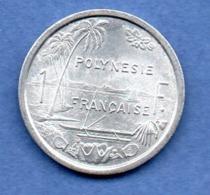 Polynésie Française  -  1 Franc  1975   -  état  SPL - French Polynesia