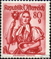 Österreich 908 Postfrisch 1948 Trachtenserie - 1945-.... 2ème République
