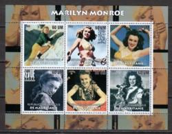 Mauretania 2003 - MNH Sheet MARILYN MONROE - Actores