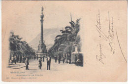 Espagne - CAT - Barcelona - Monumento De Colon - Barcelona