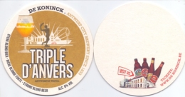 #D237-096 Viltje De Koninck - Beer Mats