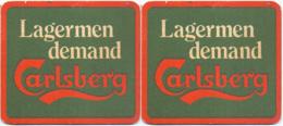 #D237-093 Viltje Carlsberg - Beer Mats