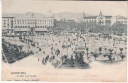 Espagne - CAT - Barcelona - Plaza Cataluna - Barcelona