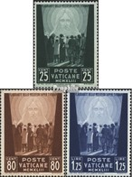 Vatikanstadt 96-98 (kompl.Ausg.) Postfrisch 1943 Opfer Des Krieges - Vatican