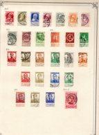Timbres Belgique     1905/15        Oblitérés  0 - Bélgica