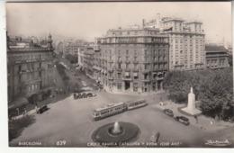 Espagne - CAT - Barcelona - Cruce Rambla Y Avenida Jose Antonio - Barcelona