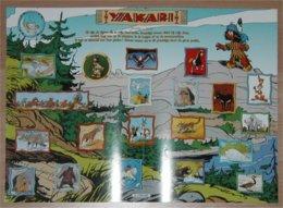 Poster/ Affiche Lombard: Yakari (Derib) (2001) - Yakari