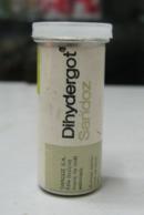 AC - DIHYDERGOT SANDOZ MEDICINE EMPTY ALUMINUM VINTAGE BOTTLE IT IS FOR COLLECTION - Attrezzature Mediche E Dentistiche