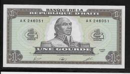 Haïti - 1 Gourde - Pick N°245 - NEUF - Haiti