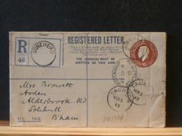 81/817A REGISTRED LETTER  1913 - Postwaardestukken