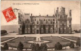 3TP 422 CPA - CHATEAU DE TREVAREZ - Frankrijk