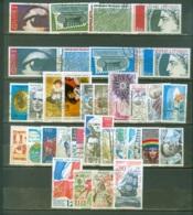 France Année Complète  1975  Ob  TB - 1970-1979