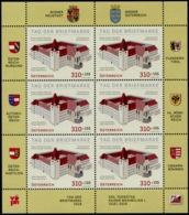 Austria 2019 Tag Der Briefmarkke Burg Wr. Neustadt  MNH/**/POSTFRISCH - Blocks & Kleinbögen