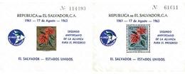 Ref. 88661 * MNH * - EL SALVADOR. 1963. 2nd ANNIVERSARY OF THE ALLIANCE FOR PROGRESS . 2 ANIVERSARIO DE LA ALIANZA PARA - El Salvador