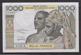 Côte D'Ivoire - 1000 Francs - 1959/1965 Pick N°103Ak - Neuf - Costa D'Avorio