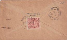 COCHIN 1912 LETTRE - Cochin