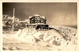 Winter Im Altvatergebirge (Sudetengau) - Das Hochscharhaus 1351 M - Czech Republic