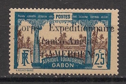 Cameroun - 1915 - N°Yv. 44 - Corps Expéditionnaire 25c - Neuf ** / MNH / Postfrisch - Unused Stamps