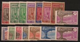 Cameroun - 1927 - N°Yv. 134 à 148 - Série Complète - Neuf * / MH VF - Ungebraucht