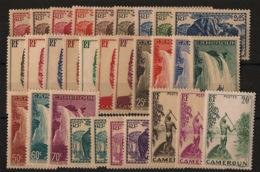 Cameroun - 1939 - N°Yv. 162 à 191 - Série Complète - Neuf * / MH VF - Nuevos