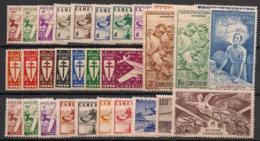 Cameroun - 1941-46 - Poste Aérienne PA N°Yv. 1 à 31 - Complet - 31 Valeurs - Neuf Luxe ** / MNH / Postfrisch - Kamerun (1915-1959)