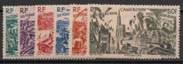 Cameroun - 1946 - Poste Aérienne PA N°Yv. 32 à 37 - Du Tchad Au Rhin - Neuf Luxe ** / MNH / Postfrisch - Luftpost