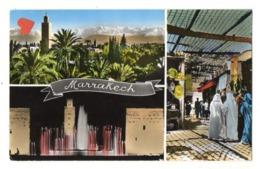 26784-LE-MAROC-Souvenir De MARRAKECH--------------multivues - Marrakech