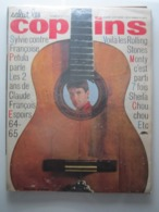 Salut Les Copains N° 27 VARTAN HARDY PETULA CLAUDE FRANCOIS LES ROLLING STONES MONTY SHEILA BERGER - Muziek