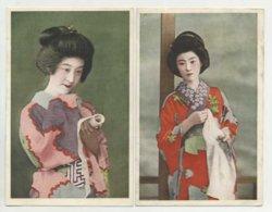 2 Postcards, Geisha, Japan  (2 Scans) - Sin Clasificación