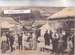 CPA - 08 - SENUC (Ardennes) - MANEGE En TRES GROS PLAN à La Fête De Saint-Orick Voy En 1907 - Voir Description - Sonstige Gemeinden