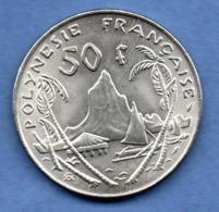 Polynésie Française  -  50 Francs  1975  -  état  SPL - French Polynesia