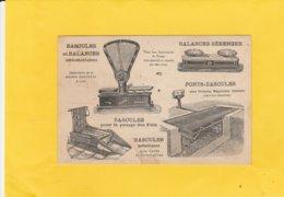 CPA 84 AVIGNON  PUB BALANCE BERANGER LADELNET FABRIQUE INSTRUMENTS DE PESAGE - Avignon