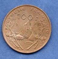 Polynésie Française  -  100 Francs  1976  -  état  SUP - French Polynesia