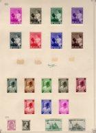 Timbres Belgique  1937/38        Neufs Avec Charniere  X - Belgio