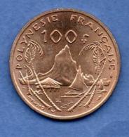 Polynésie Française  -  100 Francs  1976 -  état  SPL - French Polynesia