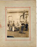 PHOTO 496 - MILITARIA - Photo Originale 12 X 16 - Equipe De Réparation Du Matériel De 75 à CLERMONT - FERRAND - Guerre, Militaire