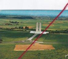 CP 62    -   VIMY - Le Mémorial Canadien   -   Photo Aérienne - Francia