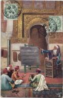 MAROC - A L'ECOLE - A TRAVERS LE MONDE - RAPHAËL TUCK T  FILS - Illustration Série 812 - Non Classés