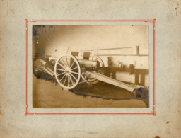 PHOTO 497 - MILITARIA - Photo Originale 17 X 12 - Canon De 75 / CLERMONT - FERRAND - Guerre, Militaire