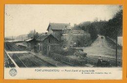 ARGENTEAU  -  Point D'arrêt (gare) Et Tourne Bride - Visé
