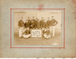 PHOTO 498 - MILITARIA - Photo Originale 17 X 12 - Equipe De Réparation Du Matériel De 75 à CLERMONT - FERRAND - Guerre, Militaire
