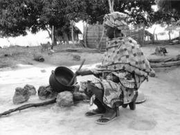 Photo Sénégal. Casamance Cuisine Familiale Années 1990   Vivant Univers - Afrique