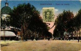 CPA Espagne Barcelona-Paseo De Gracia (317743) - Barcelona