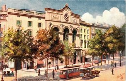 CPA Espagne Barcelona-Teatro Principal (317783) - Barcelona
