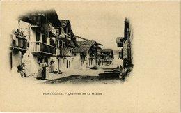 CPA Espagne Fontarabie-Quartier De La Marine (317860) - Other