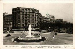 CPA Espagne Barcelona-Fuente Monument (317891) - Barcelona